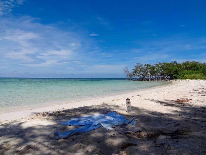 Einsamer Strand bei Cayo Jutias