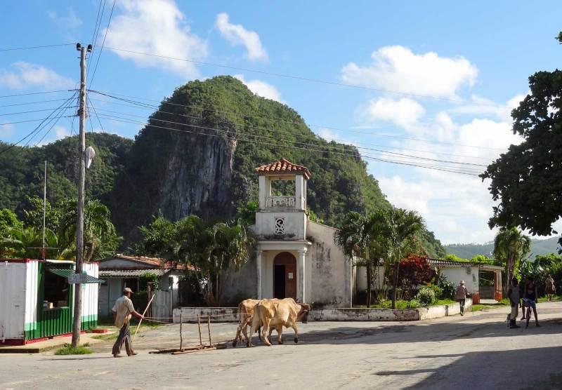 Kubanisches Dorfleben