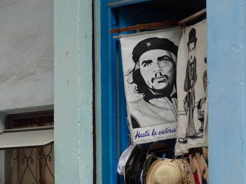 Che in den Strassen von La Habana
