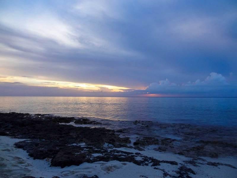 Sonnenuntergang bei Maria la Gorda