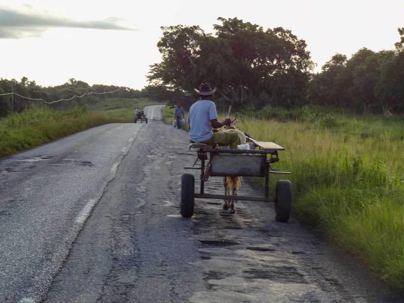 Unterwegs aus Kubas Strassen