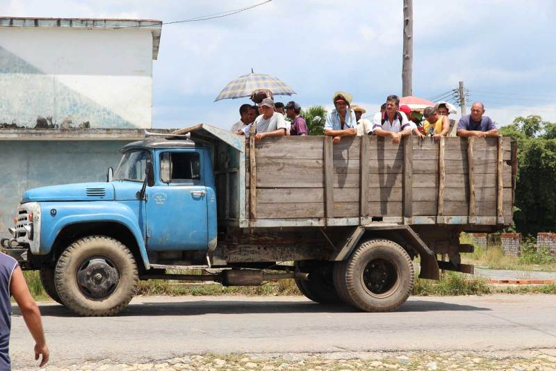 Public Transport in Cuba