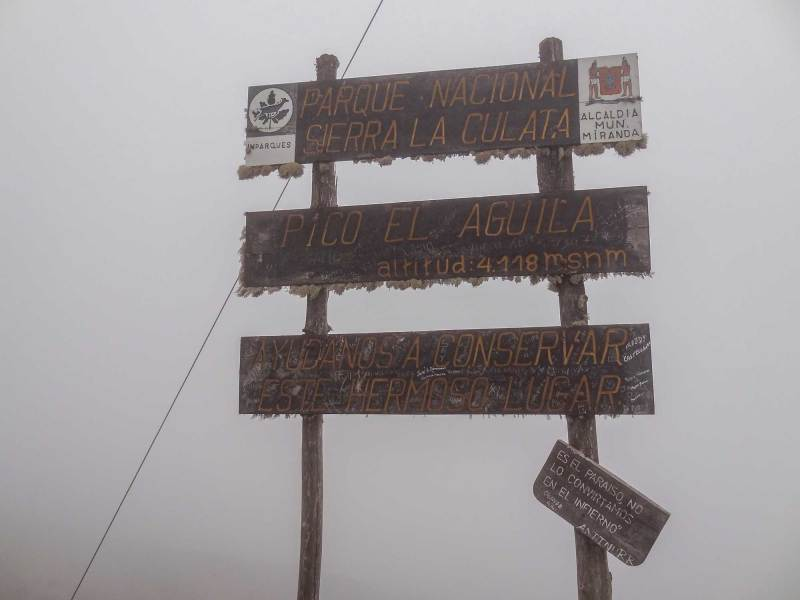 Auf dem Pico el Aguila