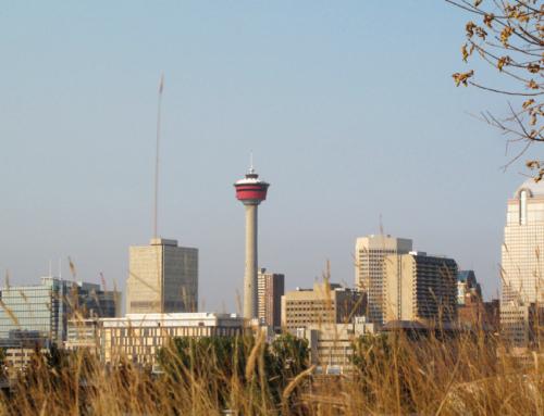 Edmonton – Calgary, es herbstelt sehr