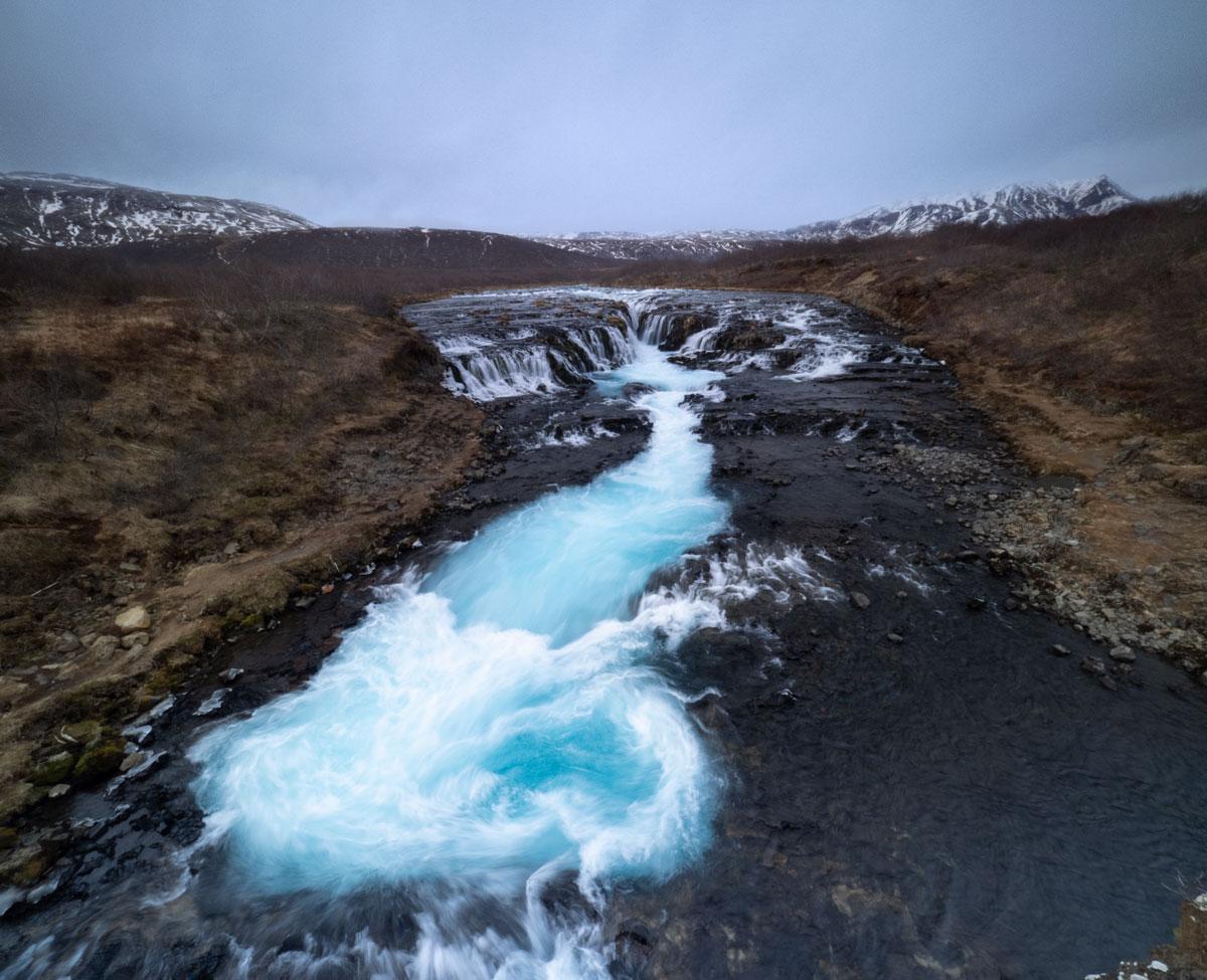 Die Kraft des Brúarfoss